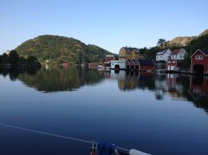 Rekefjord fra Gjestebrygga