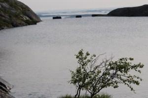 Utrolig vannspeil. Vannreservoar for Sandnessjøen (4)